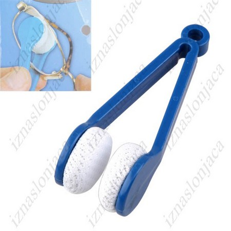 Pinceta iz mikrovlaken za čiščenje očal