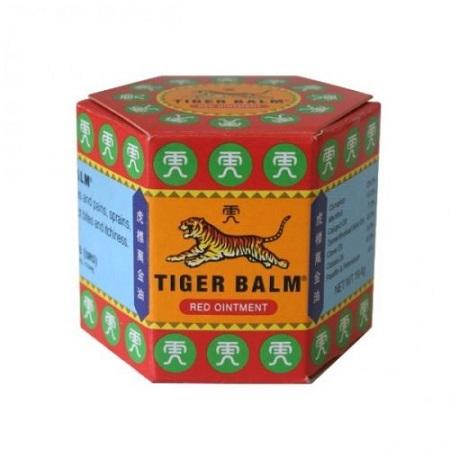 Originalna kitajska (tigrova) mast, rdeča, 19.4g