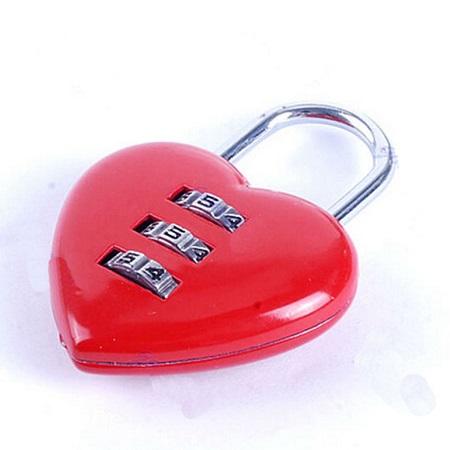 """Srčkasta ključavnica """"I Love You"""""""