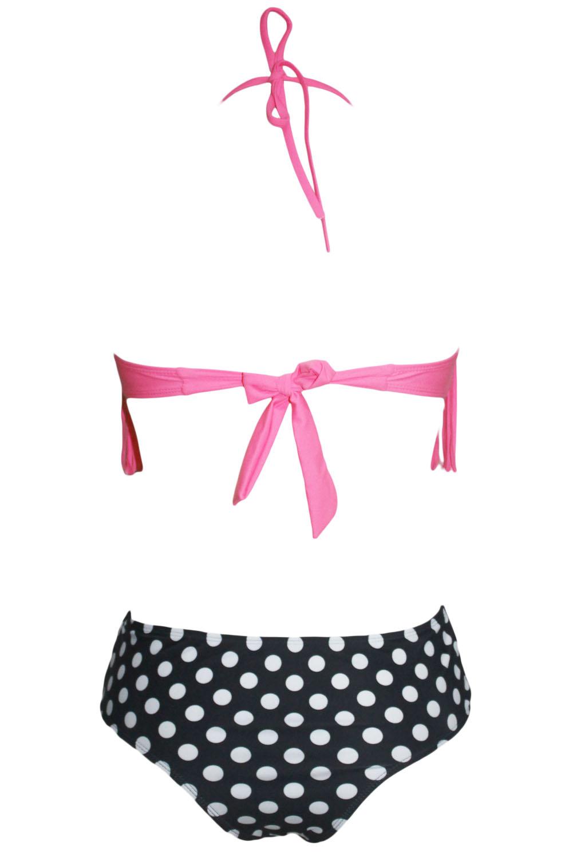 Bikini ženske kopalke z resicami Pinky