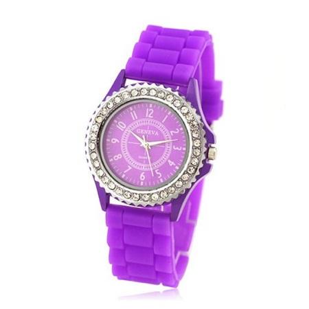 Ženska modna ura s kristalčki Geneva
