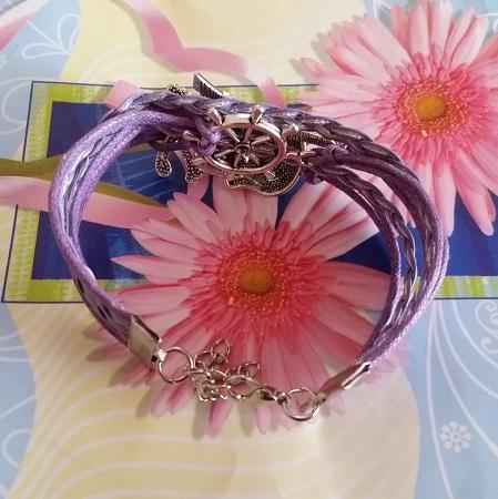 Infinity zapestnica vijoličasta - Eifflov stolp