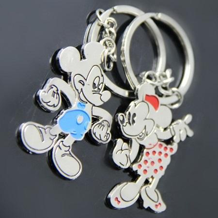 Obesek za na ključe 'Mickey & Minnie'