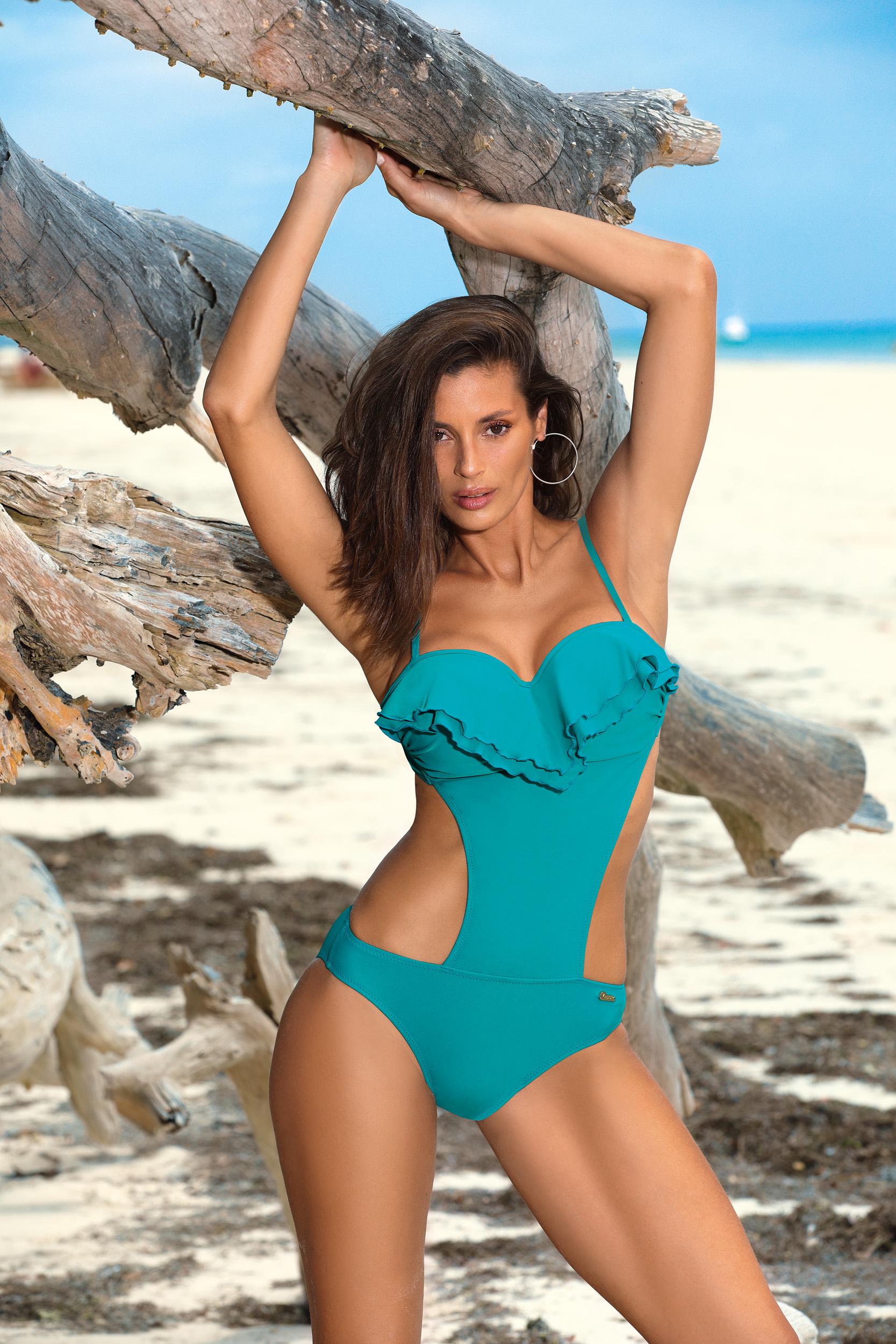 Ženske monokini kopalke Belinda Curacao