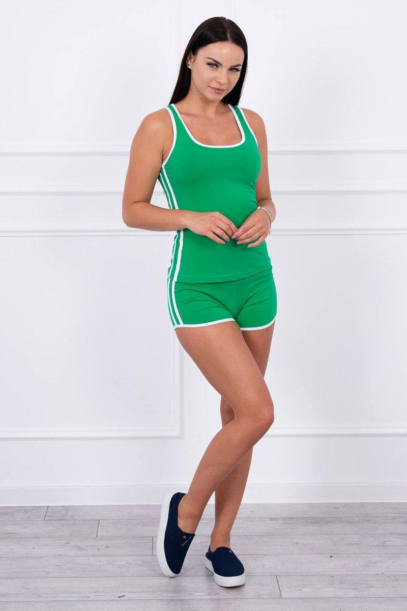 Ženski komplet s kratkimi hlačami