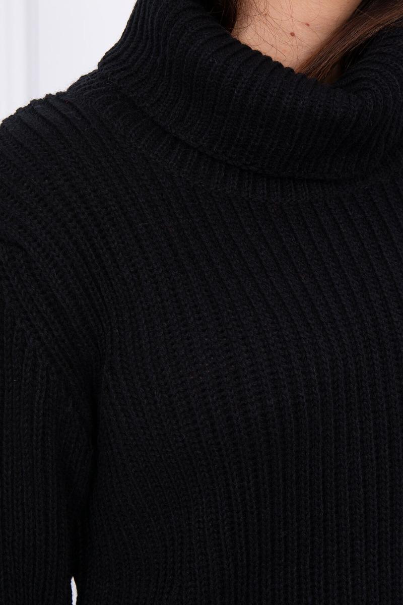 Ženski pulover z visokim ovratnikom