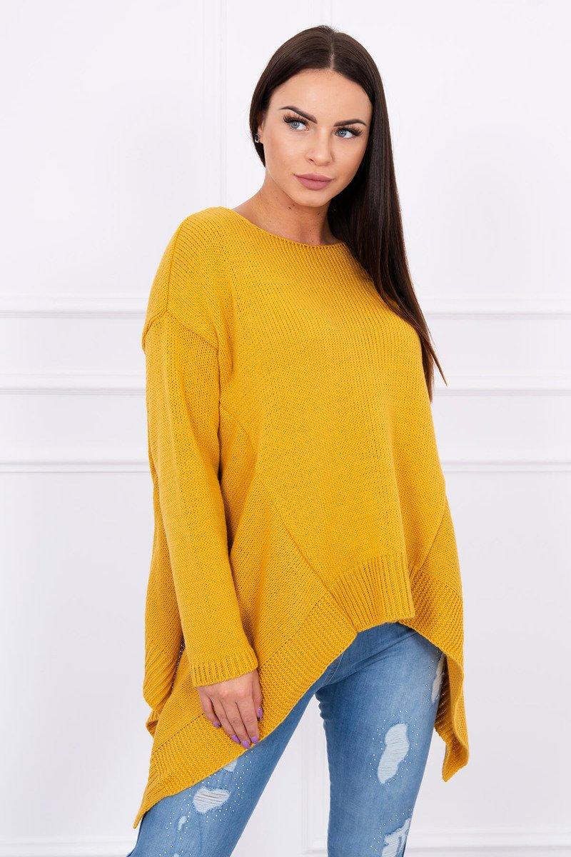 Ženski asimetričen pulover