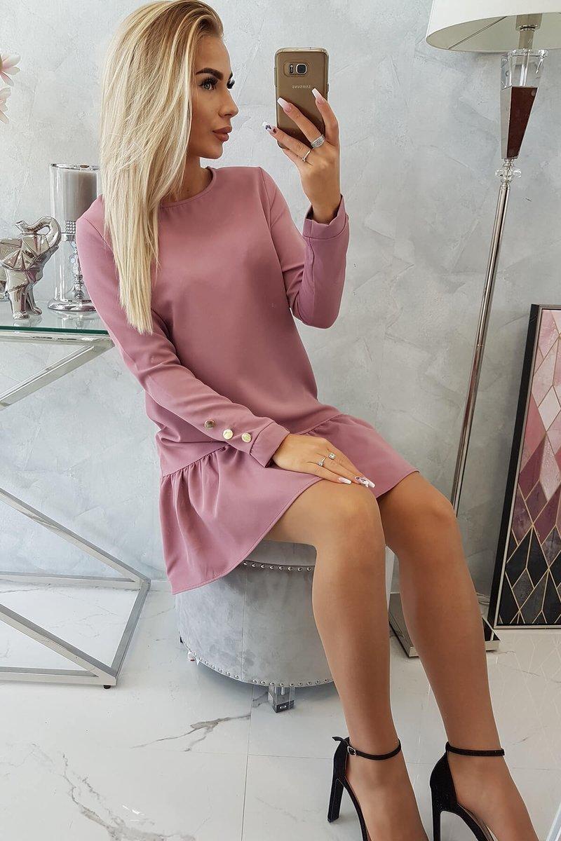 Obleka z volančki