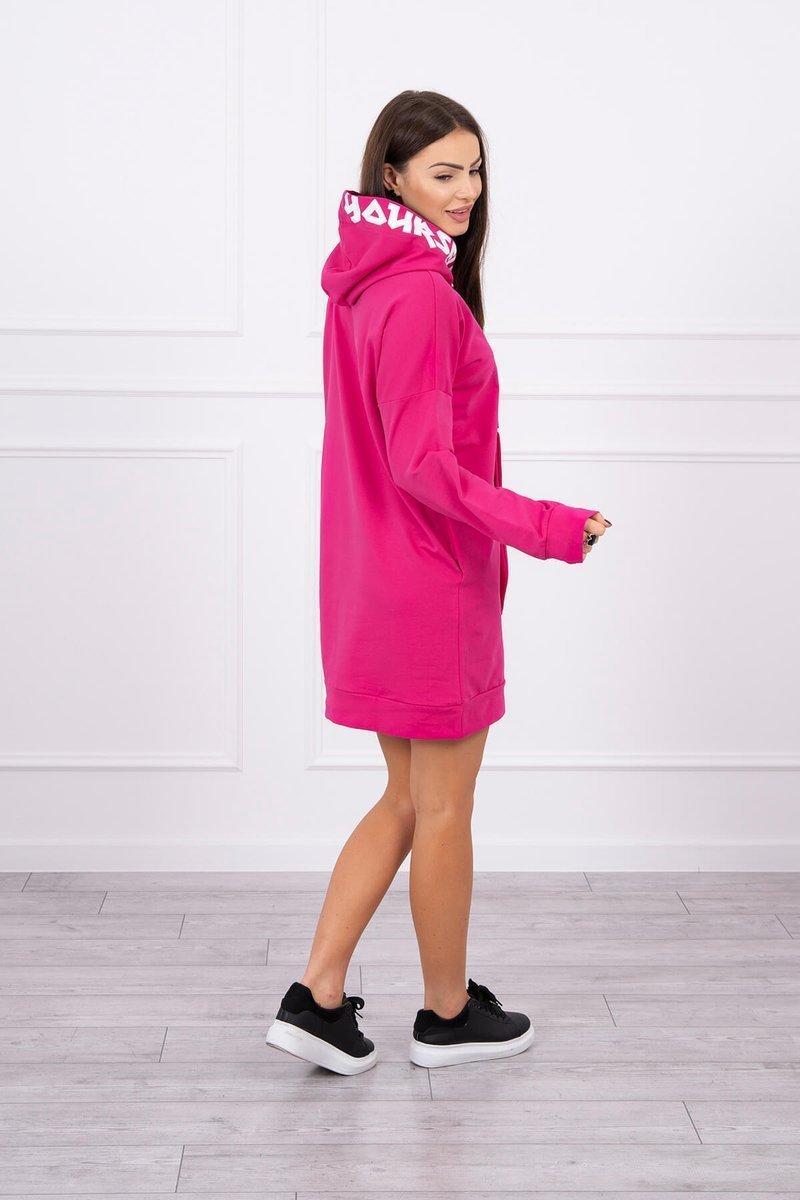 Oversize obleka s kapuco