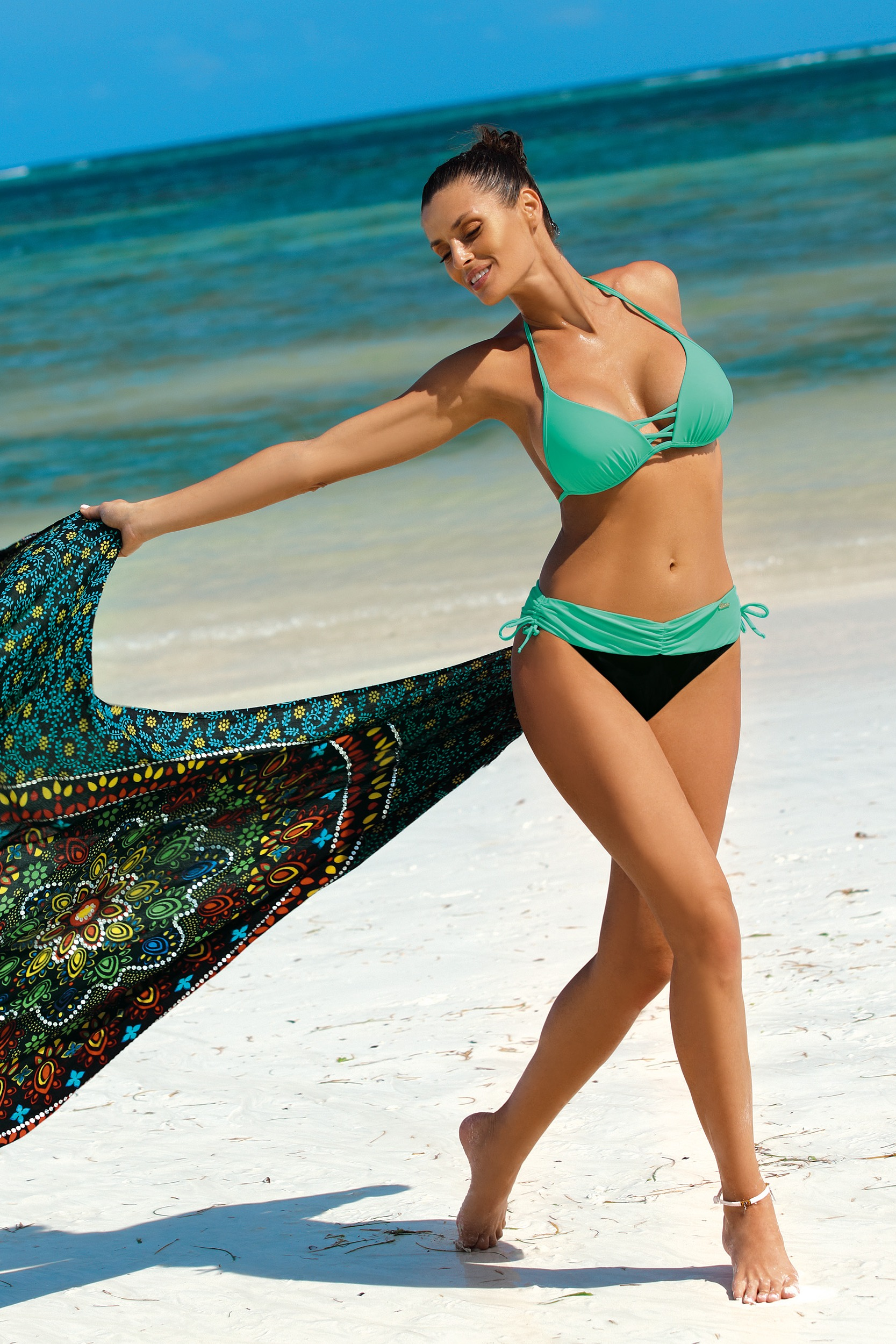 Ženske kopalke Athena Blu Assoluto-Maladive