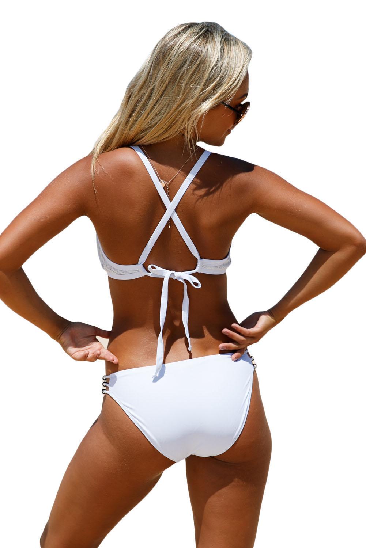 Ženske bikini kopalke JUSTINE White