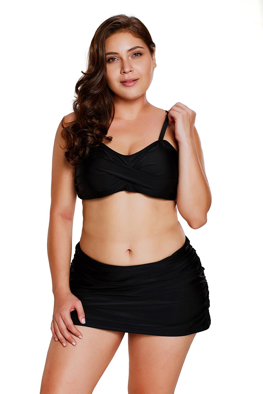 Ženske bikini kopalke LEOLA Black