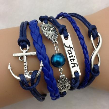 Infinity zapestnica modra - Faith