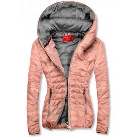 Ženska kratka športna jakna DL011, svetlo roza
