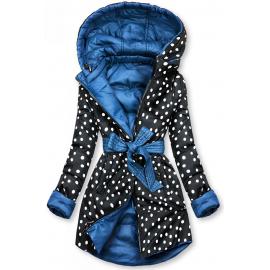 Obojestranska prehodna jakna s pikami W352, modra/črna