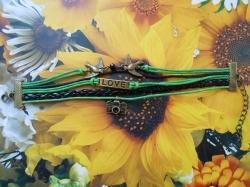 Infinity zapestnica zelena - Ptička