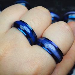 Eleganten unisex prstan