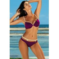 Ženske kopalke Nathalie Magenta Purple M-391 (19)