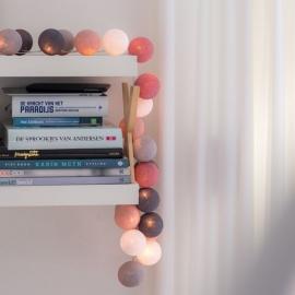 Bombažne lučke na vrvici ♥DIRTY ROSE♥