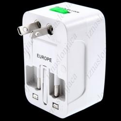 Univerzalni potovalni adapter (ZDA, Anglija, Avstralija ...)