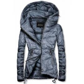 Rahlo telirana prehodna jakna W714, temno modra