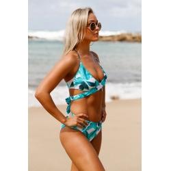 Ženske bikini kopalke Nycke Tropical Print