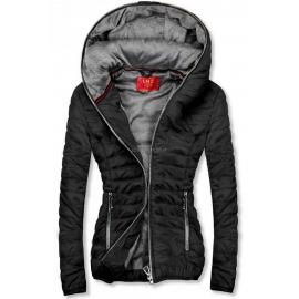 Ženska kratka športna jakna DL011, črna