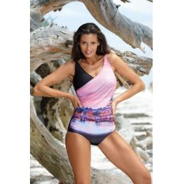 Ženske monokini kopalke Daniella Nero-Semifredo M-555 (4)