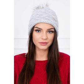 Ženska kapa K68, siva