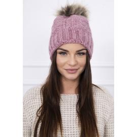 Ženska kapa K103, roza