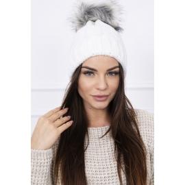 Ženska kapa K103, bela