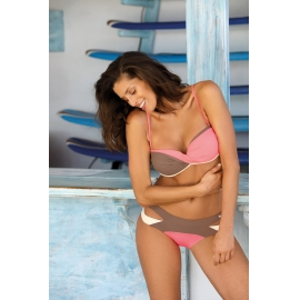 Ženske kopalke Selena Tripoli-Origami-Vanilla M-545 (5)