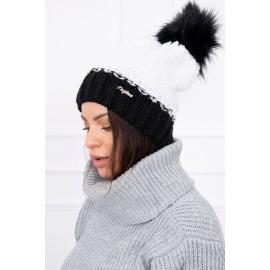 Ženska dvobarvna kapa