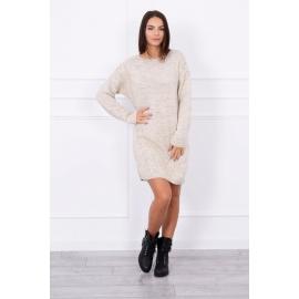 Ženski daljši pleten pulover