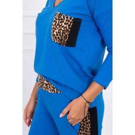 Ženski komplet z motivom leoparda