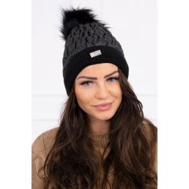 Ženska kapa K160, črna