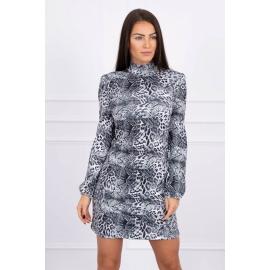 Obleka v živalskem vzorcu 66029, siva