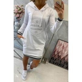 Obleka Brooklyn 62095, bela