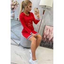 Obleka Brooklyn 62095, rdeča