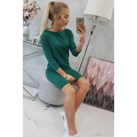 Klasična obleka 8825, zelena