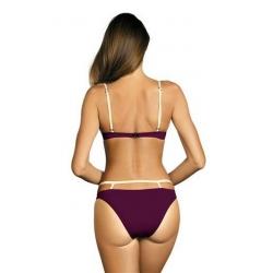 Ženske kopalke Nathalie Magenta Purple