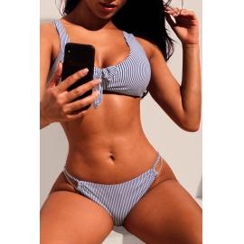 Ženske bikini kopalke SHELLEY Navy/White
