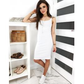 Oprijeta obleka LARESA EY1181, bela