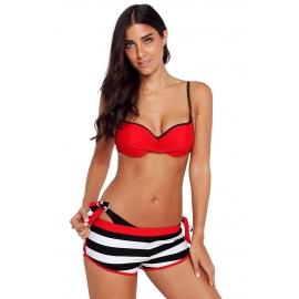 Ženske 3-delne bikini kopalke NOELLA Red