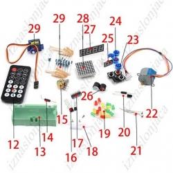 Začetniški komplet za Arduino Uno R3