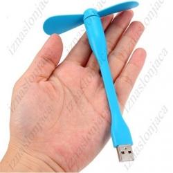 Majhen ventilator za v USB priključek